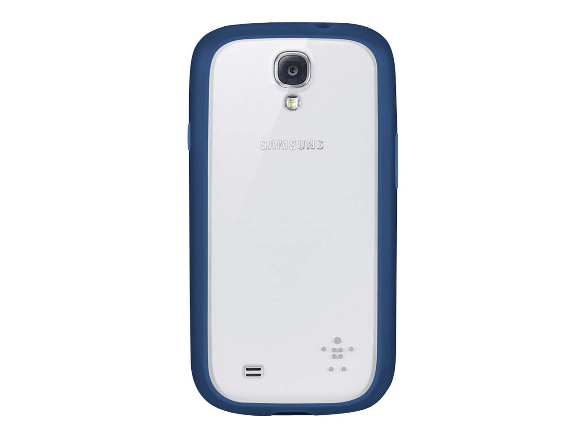 Belkin View Case for Samsung Galaxy S4, Clear Midnight, F8M565BTC01, 15961103, Carrying Cases - Phones/PDAs