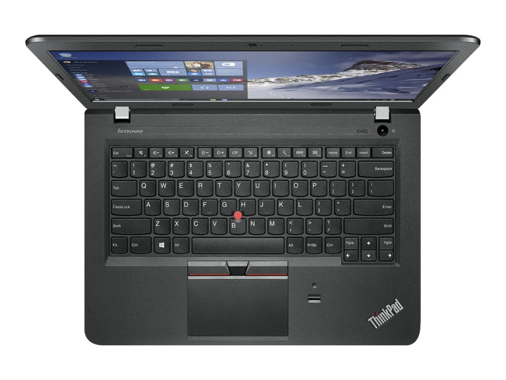 Lenovo TopSeller ThinkPad E465 1.8GHz A10 Series 14in display, 20EX0008US