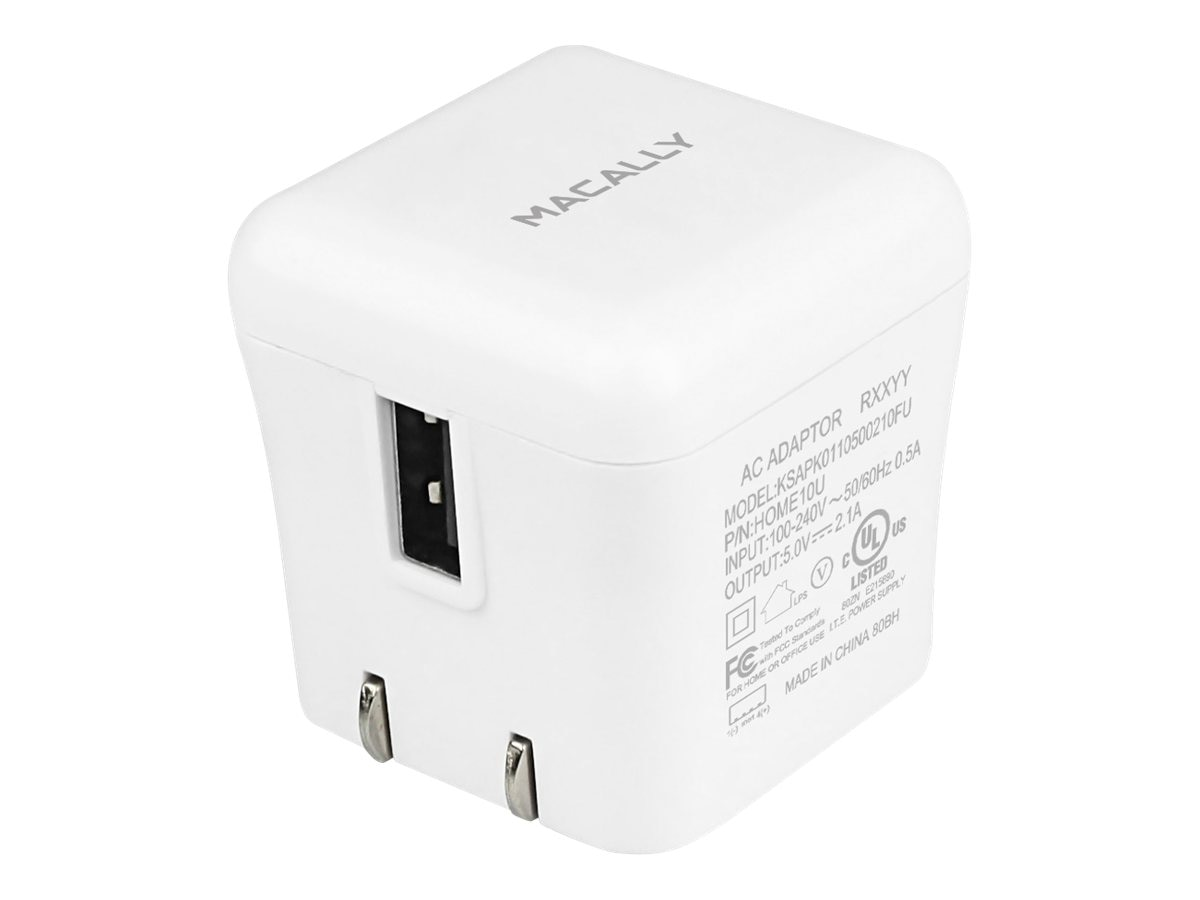 Macally 10W USB Home Charger for iPad, HOME10U, 15458444, Battery Chargers
