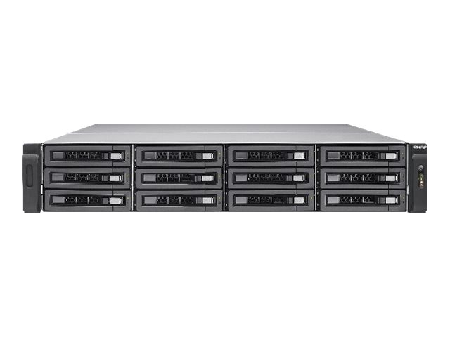 Qnap TS-EC1280U-RP 12-Bay Turbo NAS Storage, TS-EC1280U-RP-US, 17541559, Network Attached Storage