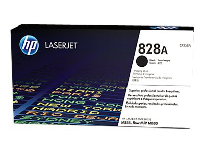 HP 828A Black LaserJet Imaging Drum for HP Color LaserJet Enterprise M855 Series, CF358A, 16433839, Toner and Imaging Components