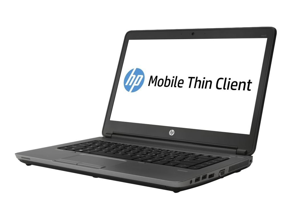 HP mt41 Mobile Thin Client A4-4300M 2.5GHz 4GB RAM 16GB SSD abgn BT 6C 14 HD WES7E, E3T73UT#ABA, 16558383, Thin Client Hardware