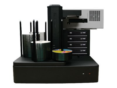 Vinpower Cronus 4-Blu-ray 12x 500-Disc Publisher w  Printer, CRONUS500BDS4TBKPLUS, 15126440, Printers - Specialty Printers