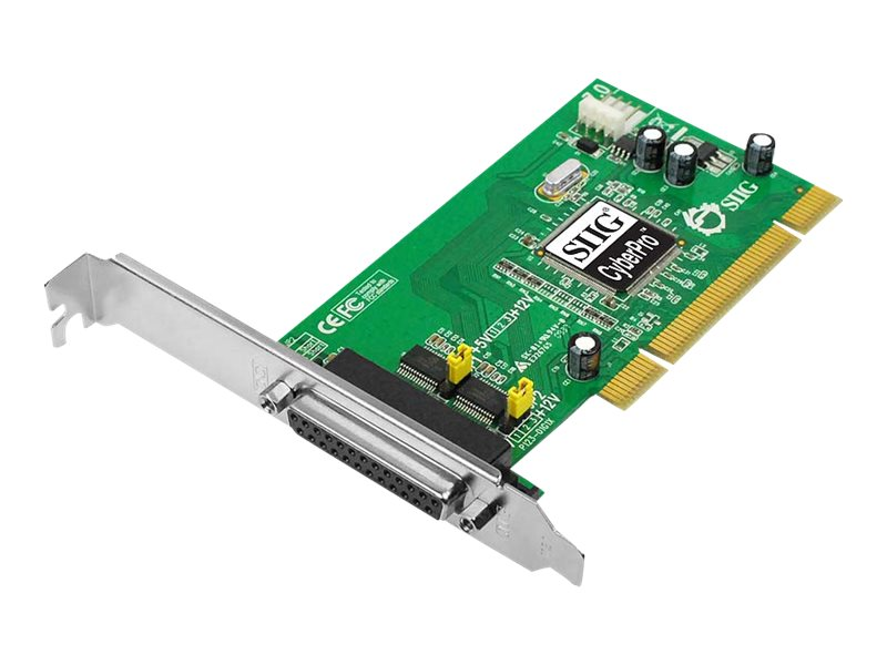 Siig Dual Port CyberSerial 2S PCI Card, JJ-P20211-S7, 16190646, Controller Cards & I/O Boards
