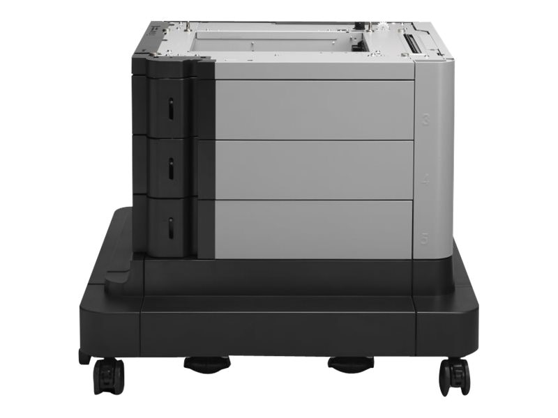 HP LaserJet 2x500 1x1,500-sheet High-capacity Input Feeder w  Stand, B3M75A, 18216432, Printers - Input Trays/Feeders