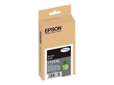 Epson Black XXL Ink Cartridge, T711XXL120