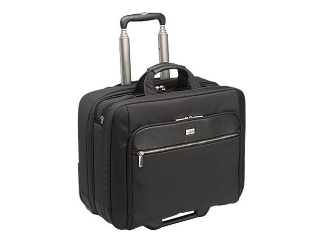 Case Logic 17 Checkpoint Friendly Rolling Laptop Case, Black