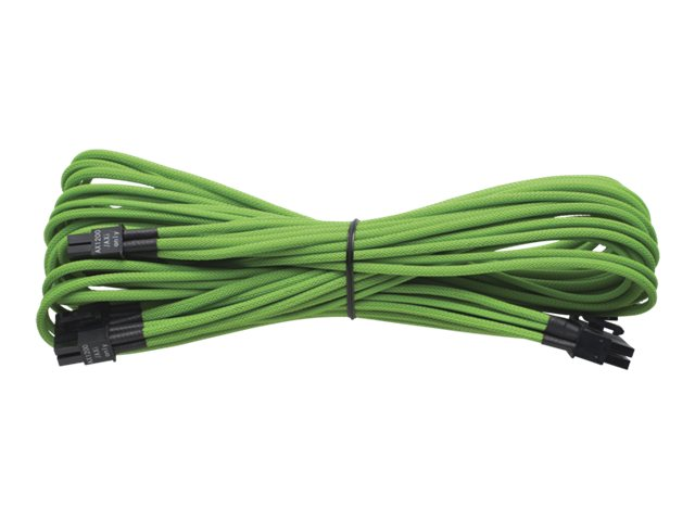 Corsair Individually Sleeved 24pin ATX Cable, Green, CP-8920055, 17922061, Cables