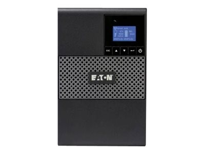 Eaton 5P 1440VA 1100W 120V Tower 5-15P Input, (8) 5-15R Outlets, 5P1500