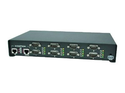 Comtrol DeviceMaster Serial Hub 8-Port RoHS RS232 Serial to Ethernet, 99465-7