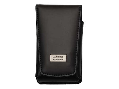 Nikon S Series Leather Case, 5811, 8360051, Carrying Cases - Camera/Camcorder