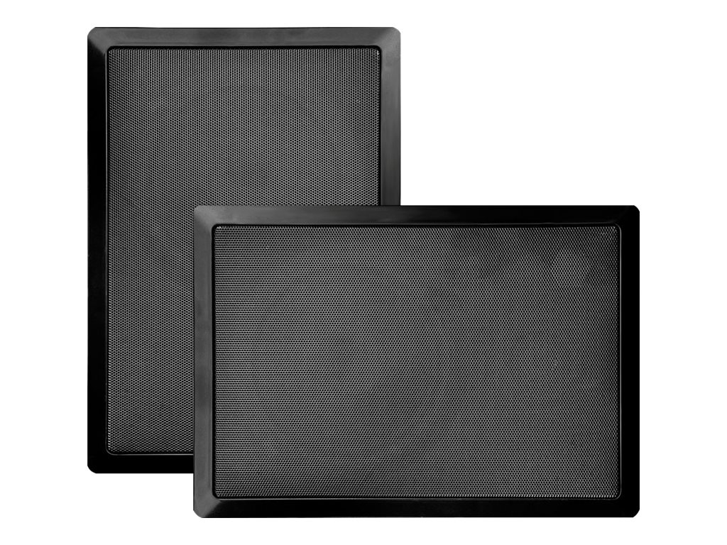 Pyle 6.5 Two-Way In-Wall Speaker System - Black, PDIW65BK, 16549090, Speakers - Audio