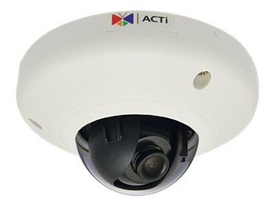 Acti 10MP Indoor Mini Fisheye Dome with Basic WDR, Fixed lens