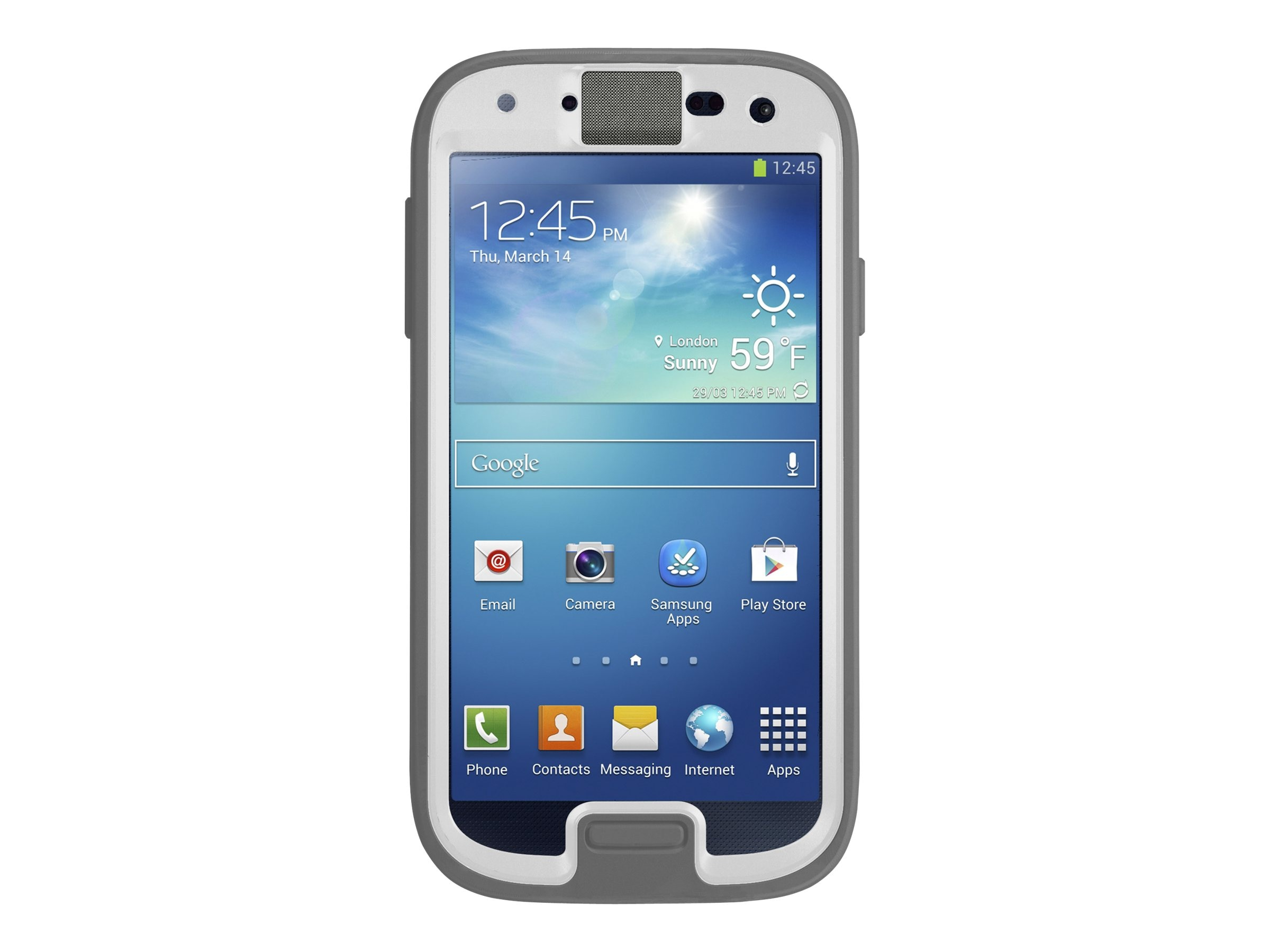 OtterBox Preserver Series Case for Samsung Galaxy S 4, Glacier, 77-33796, 16399634, Carrying Cases - Phones/PDAs