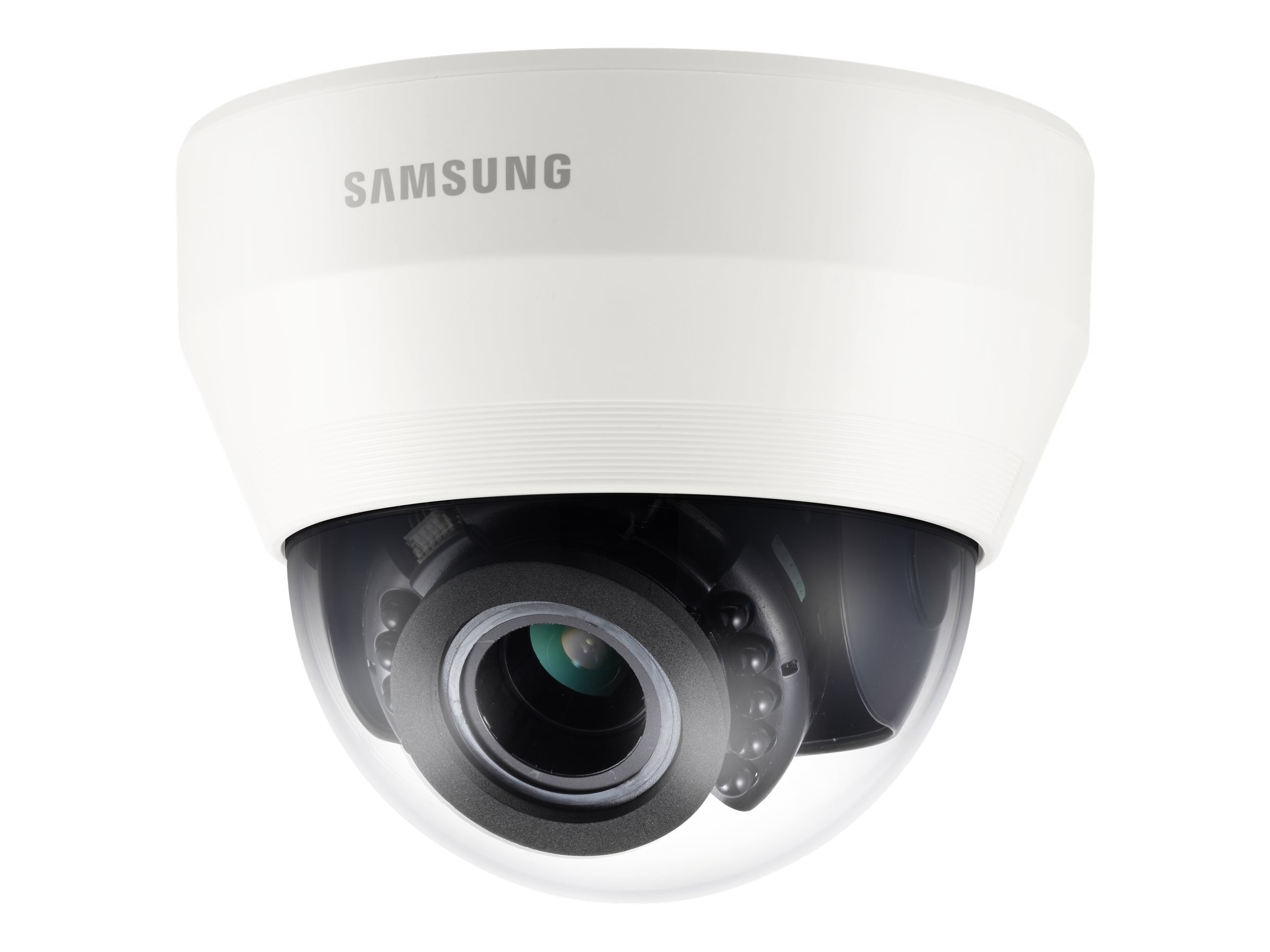 Samsung 1080p Full-HD IR Dome Camera, White