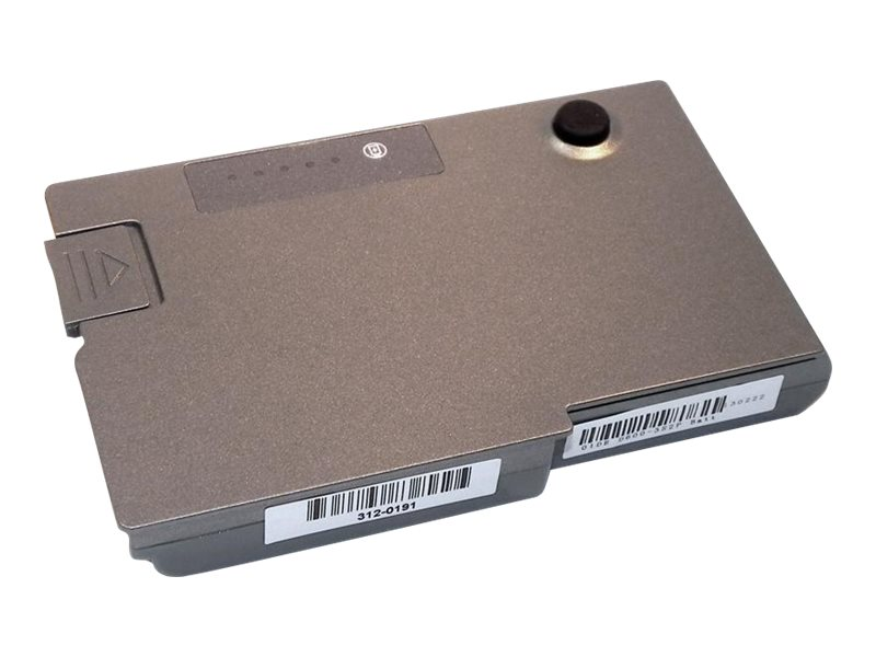 Ereplacements Laptop battery for Dell Latitude D500, D505, D510, D520, D530, D600, D610, 500m, 600m