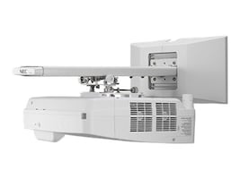 Open Box NEC UM352W WXGA LCD Projector with Built-in Interactivity, Whiteboarding and Custom Wall Mount, NP-UM352W-WK, 31117498, Projectors