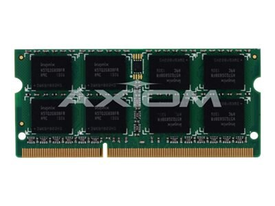 Axiom 2GB PC3-10600 DDR3 SDRAM SODIMM for Select Models, AX31333S9S/2G