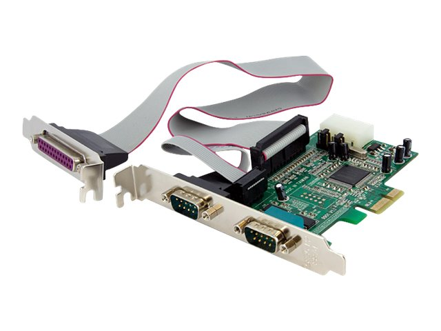 StarTech.com 2S1P Native PCI Express Parallel Serial Combo Card with 16550 UART, PEX2S5531P, 11955881, Network Adapters & NICs