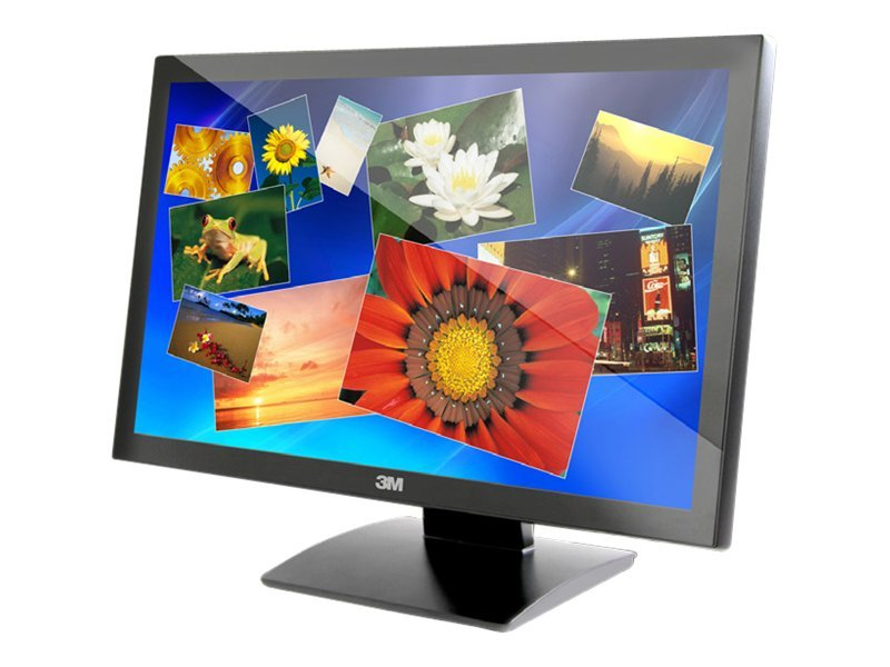 3M 22 M2167PW Multi-Touch Full HD LED-LCD Monitor, Black