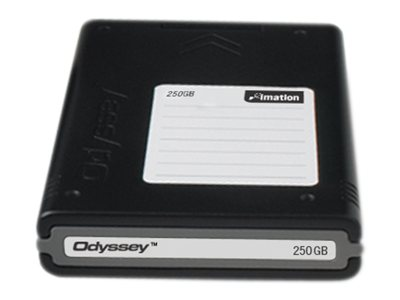 Imation Odyssey 250GB Hard Disk Cartridge, 26972, 8146266, Tape Drive Cartridges & Accessories