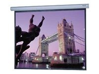 Da-Lite Cosmopolitan Electrol Projection Screen, Matte White, 9' x 9'