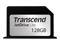 Transcend 128GB JetDriveLite Flash Expansion Card for MacBook Pro, TS128GJDL330, 29152850, Memory - Flash
