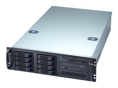 Chenbro 3U Server Chassis, SATAII SAS, with PS-YH7841, RM31408T-840RY, 9866661, Cases - Systems/Servers