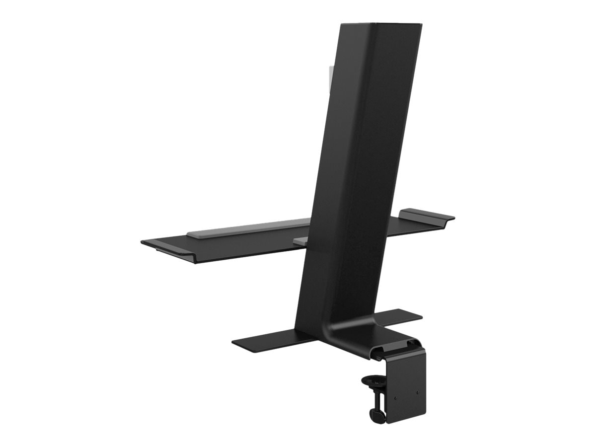 Humanscale Quickstand with Small Monitor Platform, Black, QSBL24CDN