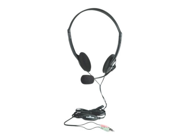 Manhattan Stereo Headset, 164429, 16817470, Headsets (w/ microphone)