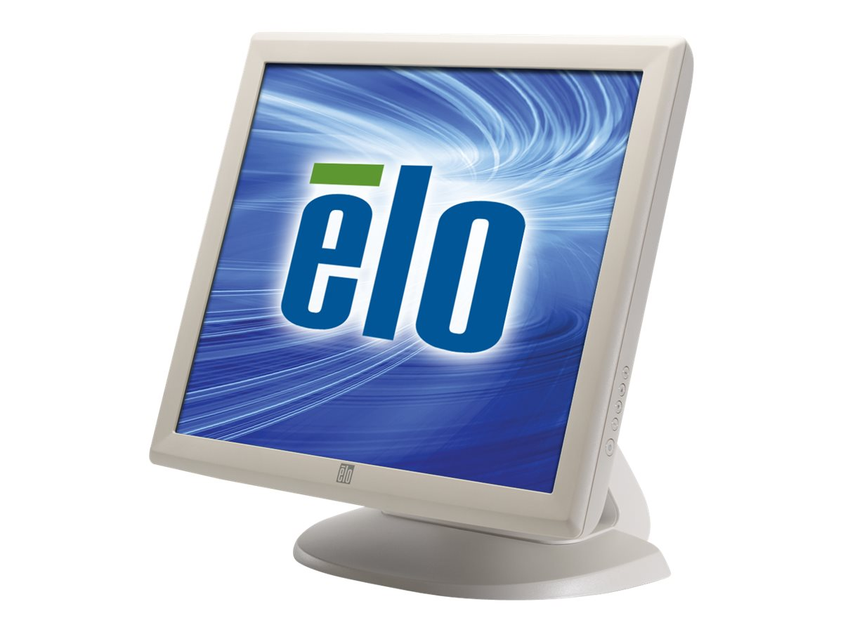 ELO Touch Solutions 1928L 19 LCD VGA DVI Video Accutouch USB RS-232 Beige, E522556