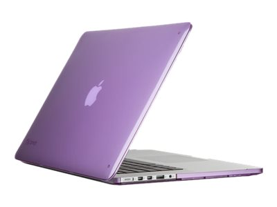 Speck SeeThru Case for MacBook Pro w  Retina Display 15, Purple, SPK-A2572, 29660951, Carrying Cases - Notebook