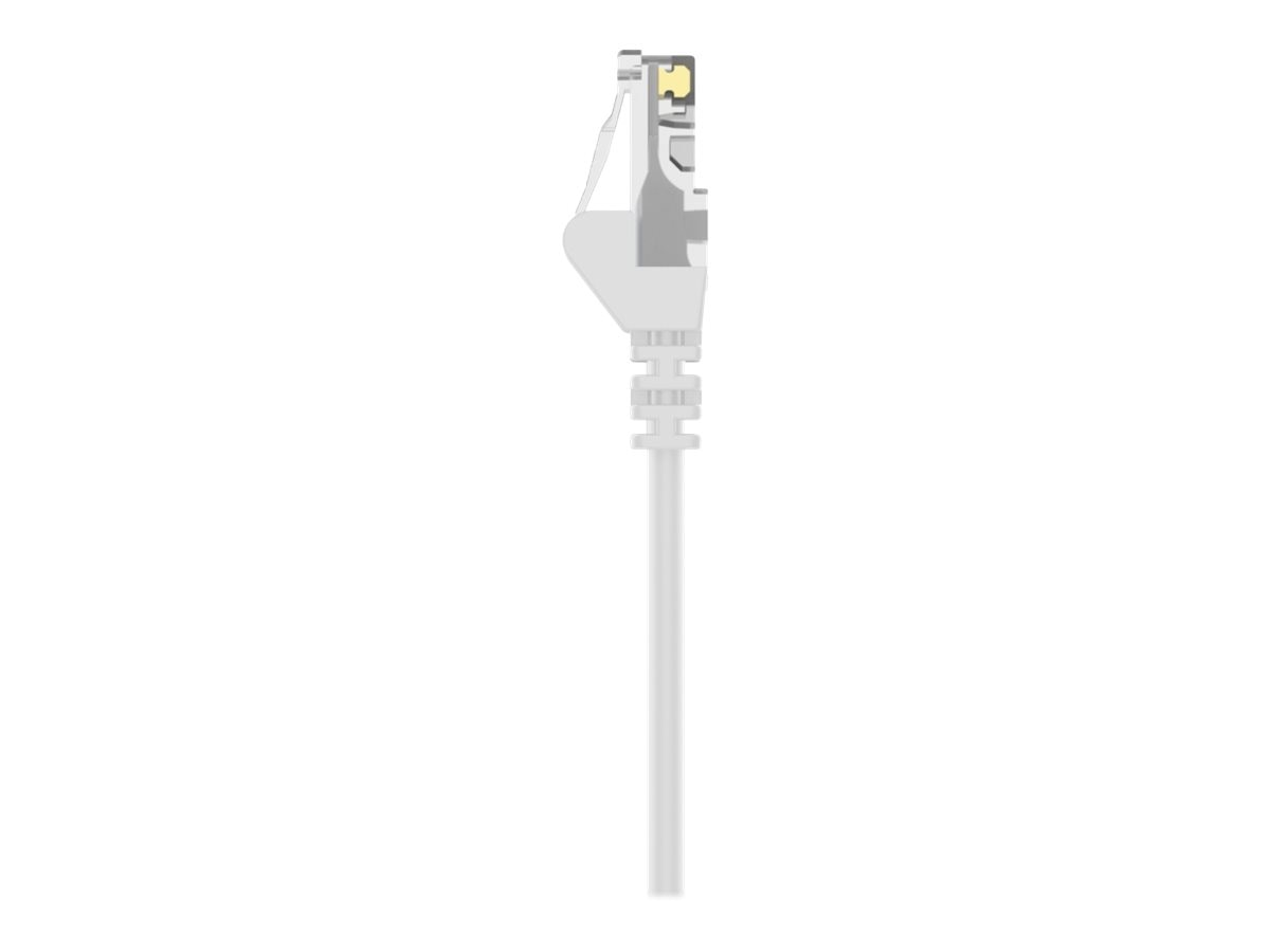 Belkin Cat6 UTP Patch Cable, White, Snagless, 5ft, A3L980-05-WHT-S