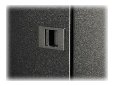 APC NetShelter SV 42U 800mm Wide x 1200mm Deep Enclosure with Sides, Black, AR2580