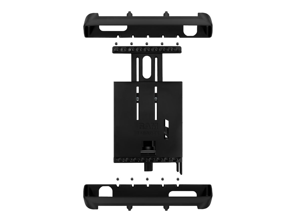 Ram Mounts Tab-Lock Universal Locking Cradle for 10 Screen Tablets, RAM-HOL-TABL8U, 15307419, Mounting Hardware - Miscellaneous