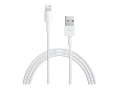4Xem 8-pin Lightning to USB Type A Cable, White, 3ft, 4XLIGHTNING3, 31191057, Cables