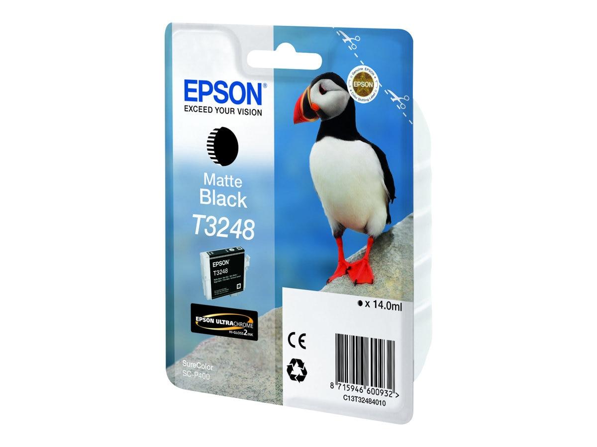 Epson 324 Matte Black Ink Cartridge, T324820