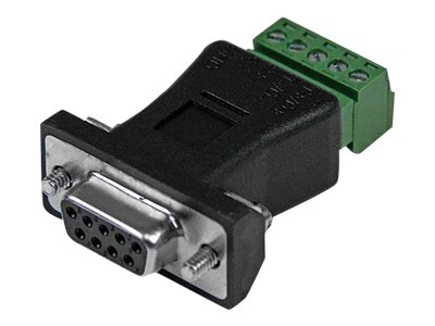 StarTech.com RS422 RS485 Serial DB9 to Terminal Block Adapter
