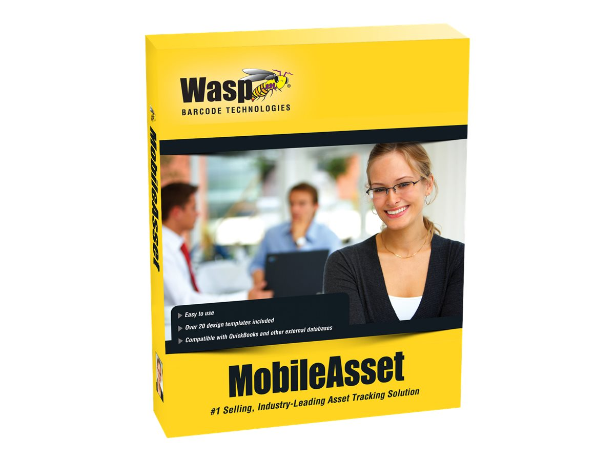 Wasp MobileAsset Enterprise Unlimited User Bundle, 633808927585, 30952723, Software - Financial