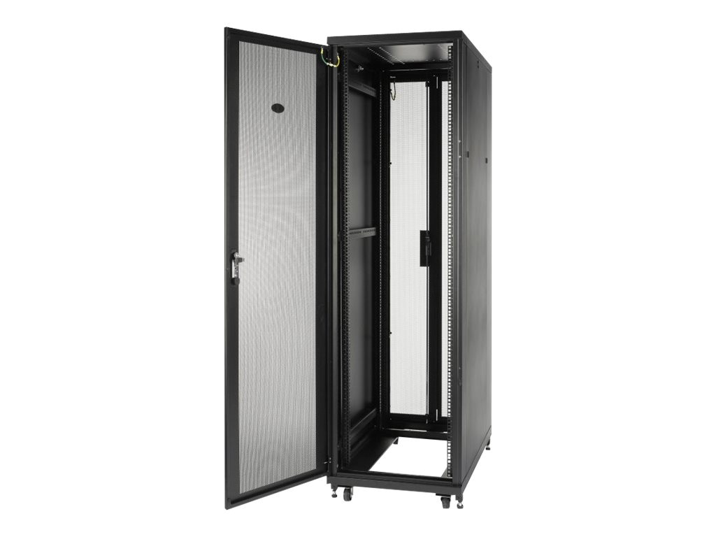 APC NetShelter SV 42U x 600mm Wide x 1060mm Deep Enclosure with Sides, Black, Instant Rebate - Save $120, AR2400, 15700106, Racks & Cabinets