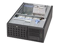 Supermicro Chassis, 4U-Tower, EATX, 11 Bays, SAS SATA, 800W PS, Black, CSE-745TQ-800B, 7295083, Cases - Systems/Servers
