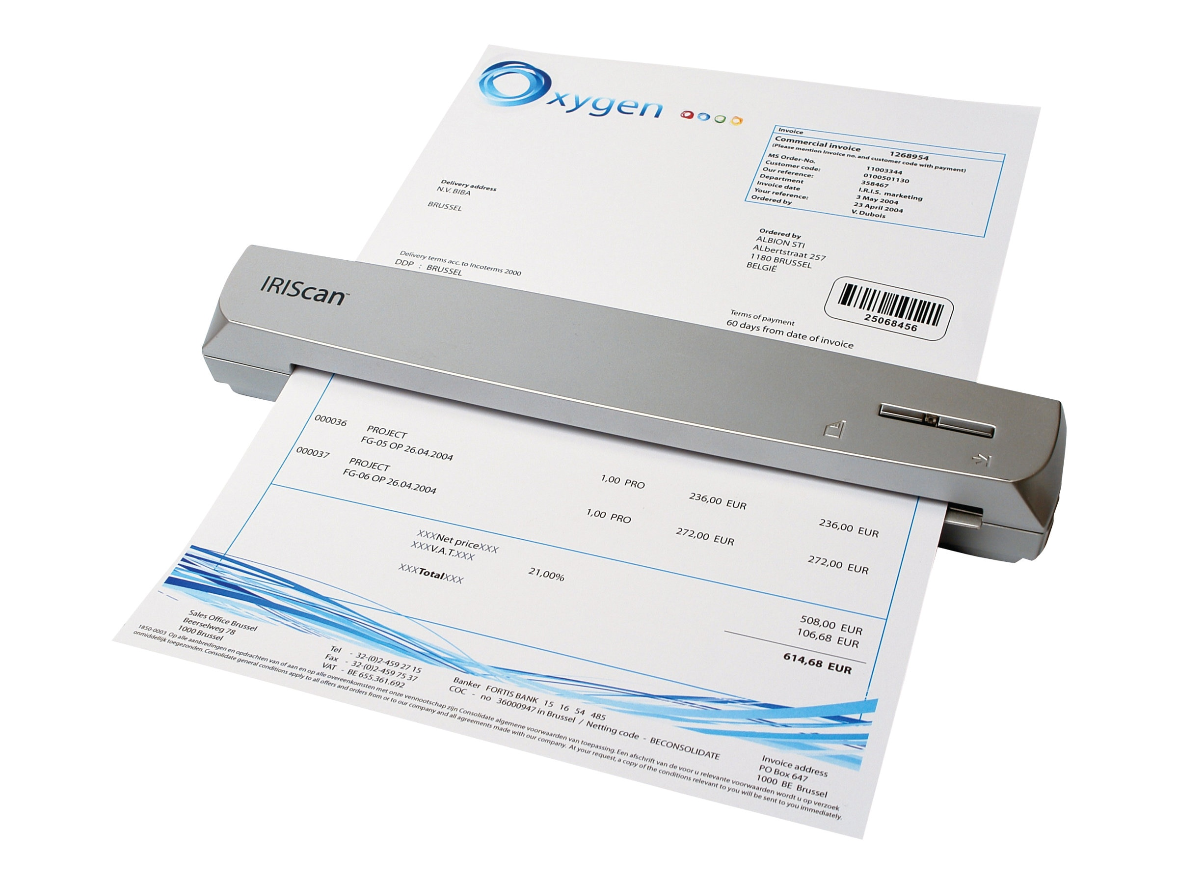 IRIS IRISCan Express 3 USB Multi-purpose Color Scanner
