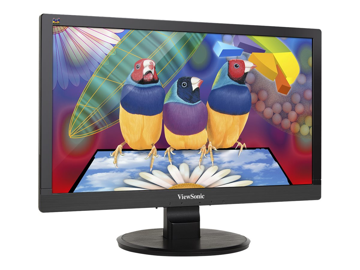 ViewSonic 20 VA2055Sm Full HD LED Multimedia Display, Black, VA2055SM