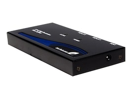 StarTech.com 2-Port High Resolution VGA Video Splitter, 350MHz, ST122PRO, 203730, Video Extenders & Splitters