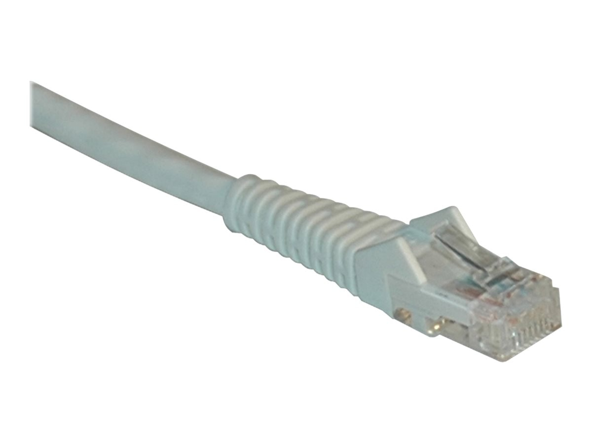 Tripp Lite Cat6 Gigabit Snagless Molded Patch Cable, White, 7ft, N201-007-WH, 9302339, Cables