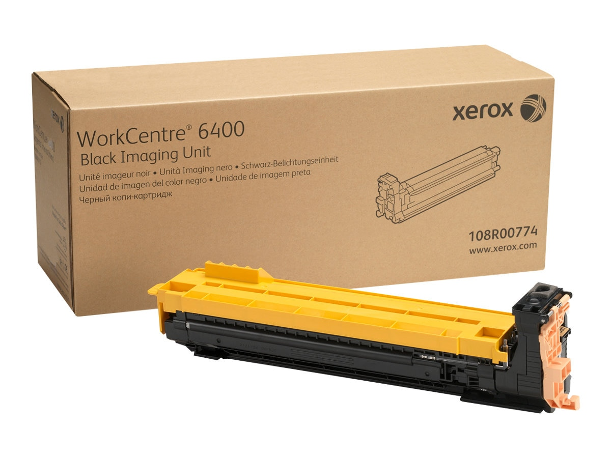 Xerox Black Drum Cartridge for WorkCentre 6400, 108R00774