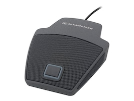 Sennheiser SpeechLine Wired Microphone Cardioid On-Table Boundary Mic w  Mic Button & LED, Gray, 505617, 18373462, Microphones & Accessories