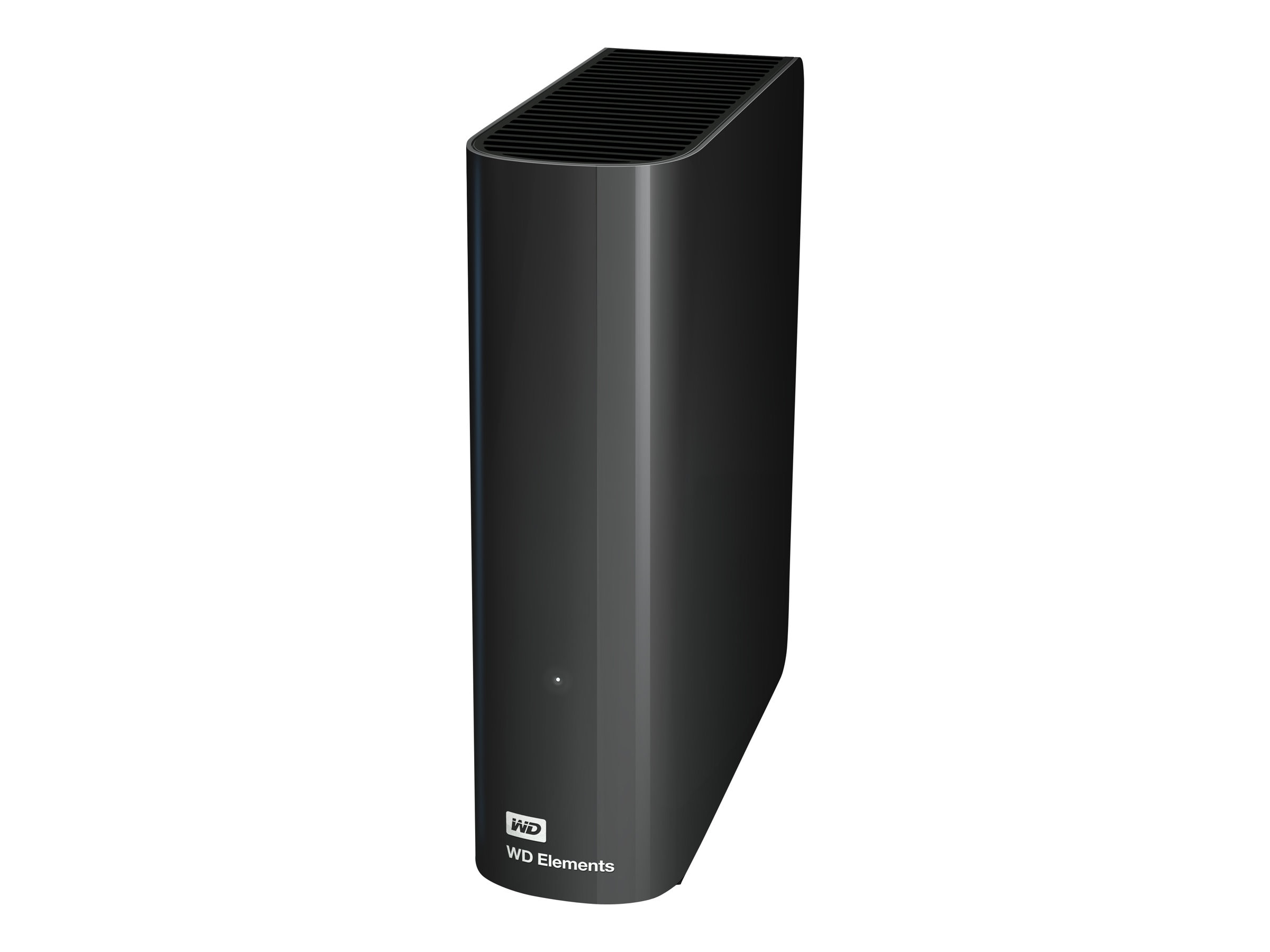 WD 3TB WD Elements Desktop USB 3.0 External Hard Drive, WDBWLG0030HBK-NESN, 17828171, Hard Drives - External