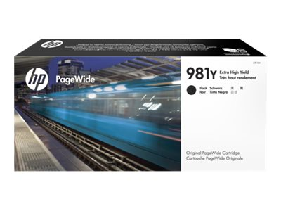 HP 981Y (L0R16A) Extra High Yield Black Original PageWide Cartridge