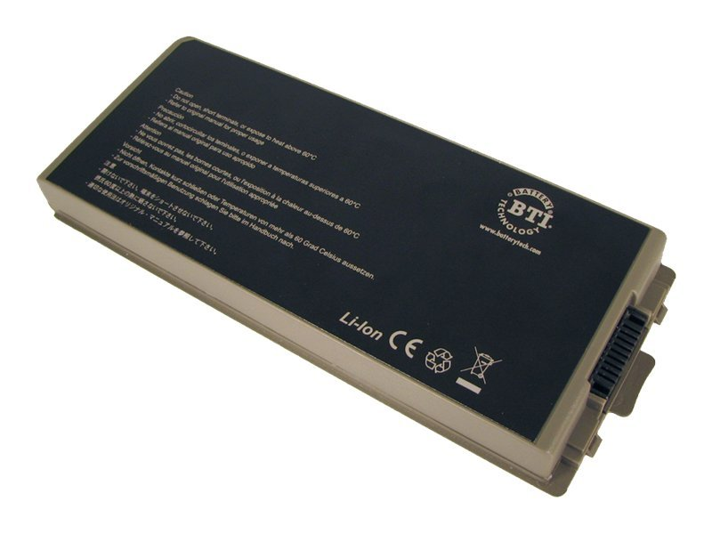 BTI Battery, Li-Ion 7200mAh 11.1V 9-cell for Latitude D810, DL-D810, 7354952, Batteries - Notebook